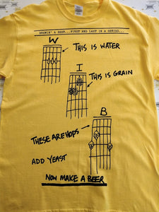 Make a Beer T-Shirt Yellow