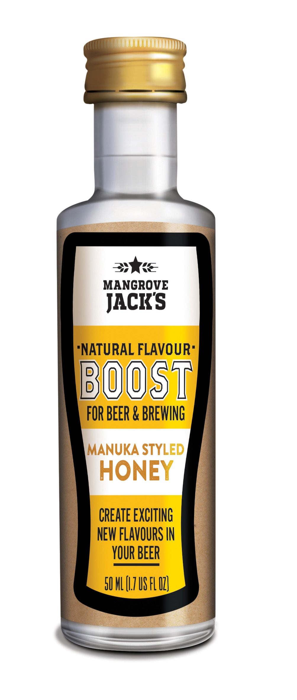 Mangrove Jacks All Natural Beer Flavour Booster Manuka Honey (50ml)