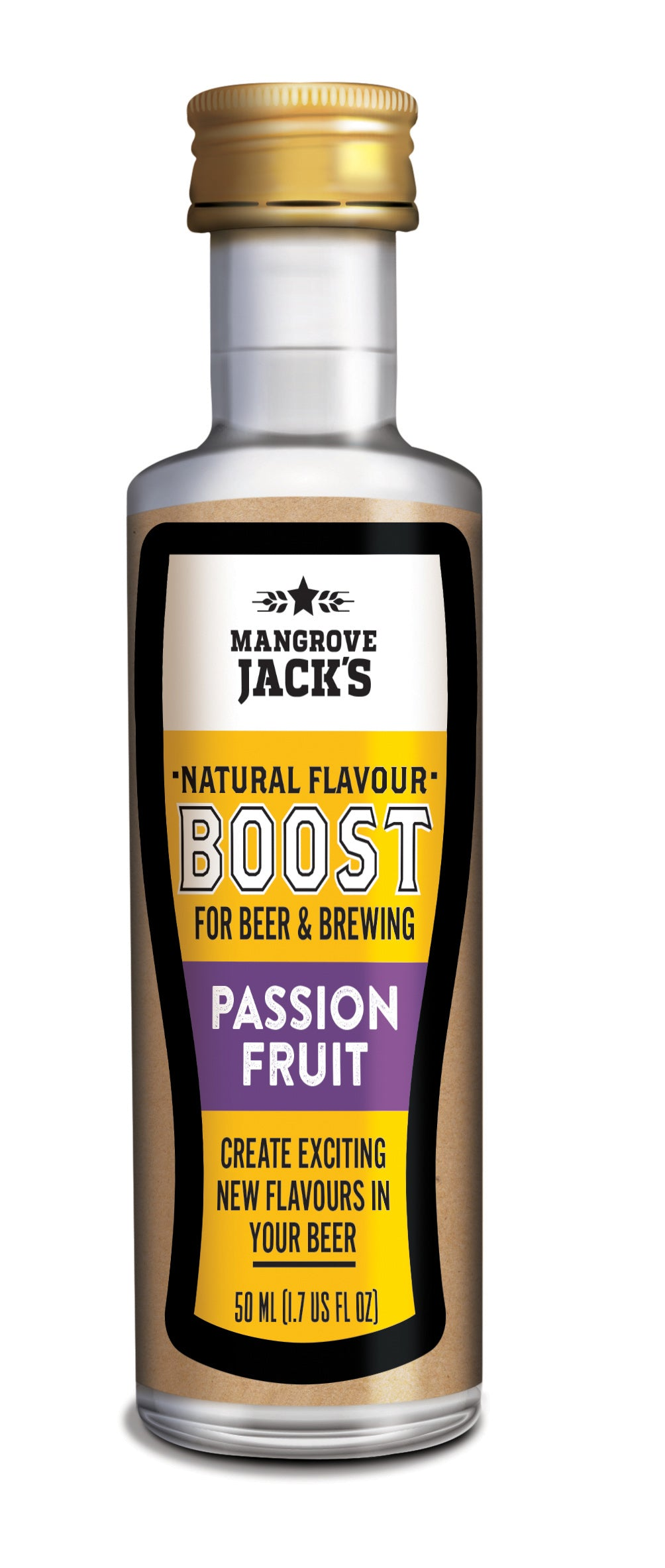 Mangrove Jacks All Natural Beer Flavour Booster Passionfruit (50ml)
