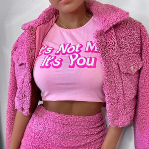It's not you - crop top