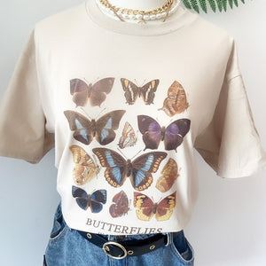 Butterfly T Shirt Aesthetic