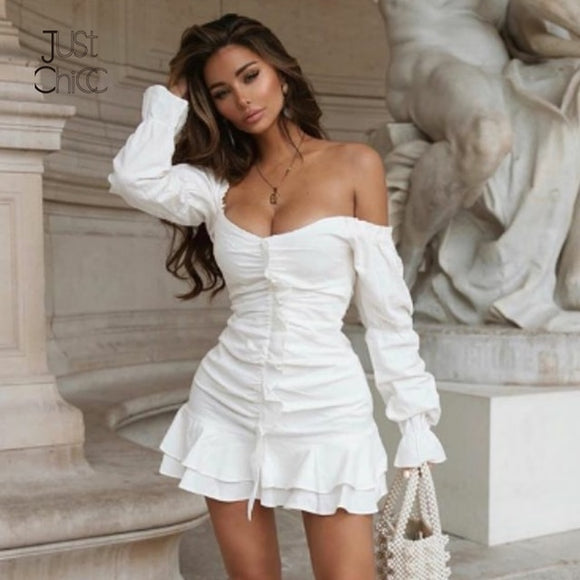 PleateD Mini Elegant Dress
