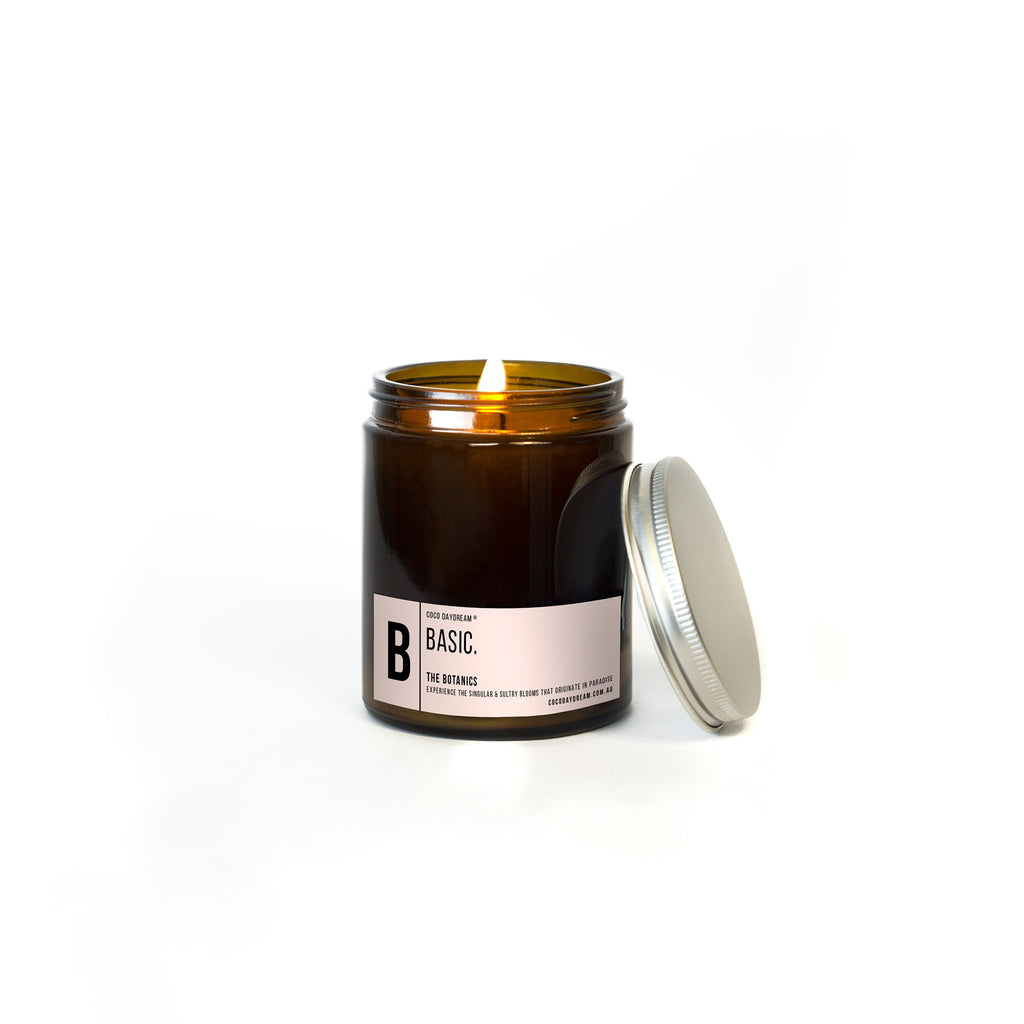 Basic Candle. B - The Botanics