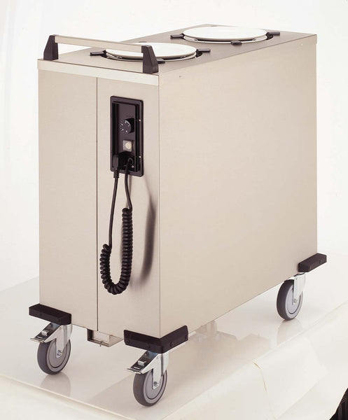 Mobile plate dispenser/lowerator