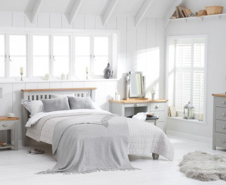 Cinza Grey Painted Bedroom Collection