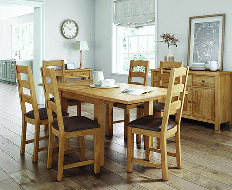 Simplicity Lite Natural Oak Bedroom & Dining Range