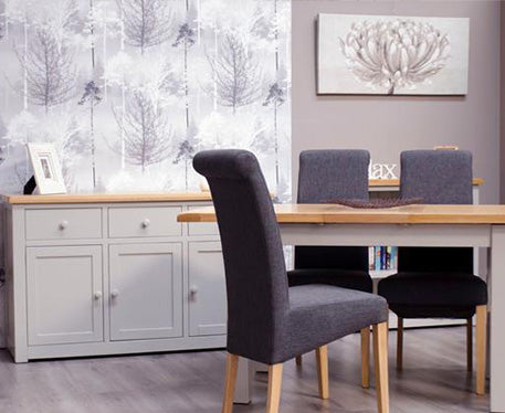 Cinza Grey Painted Dining & Occasional Collection