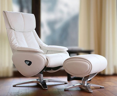 The Luxury Leather and Fabric Reclining Chair Collection
