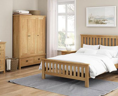 Essentials Lite Oak Bedroom Range (Very Competitive Price)
