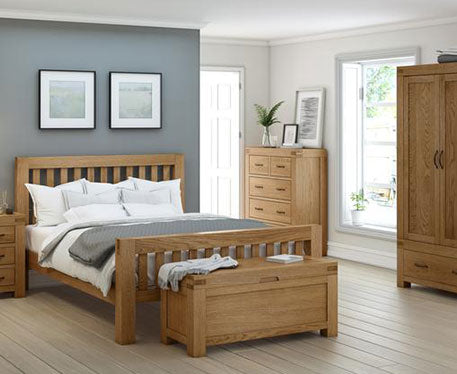 Montreal Country Oak Bedroom Collection