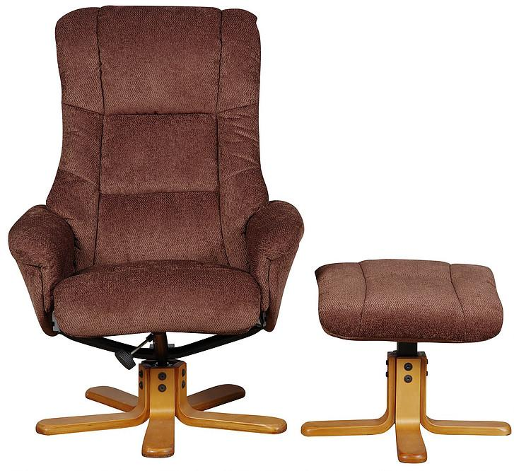 Shanghai Reclining & Swivel Chair Various Fabrics