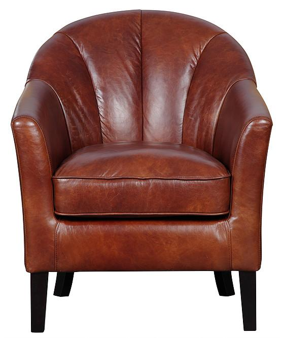 Kensington Accent Leather Chair