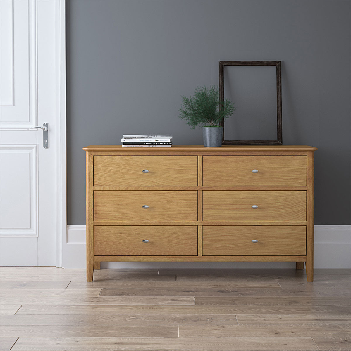 Bath Oak 2 over 3 Chest