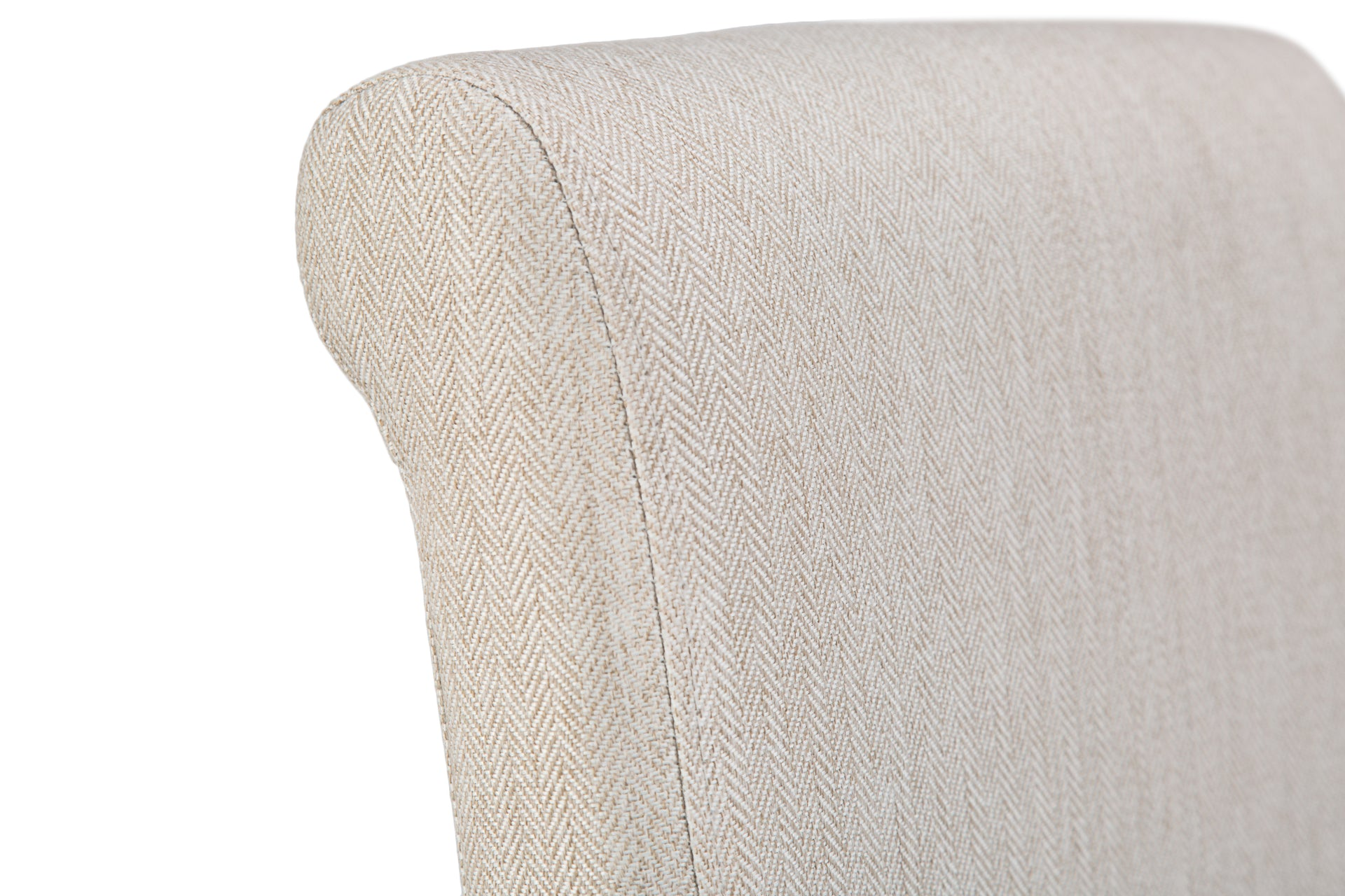 Luxury Chair Scroll Back Cappuccino
