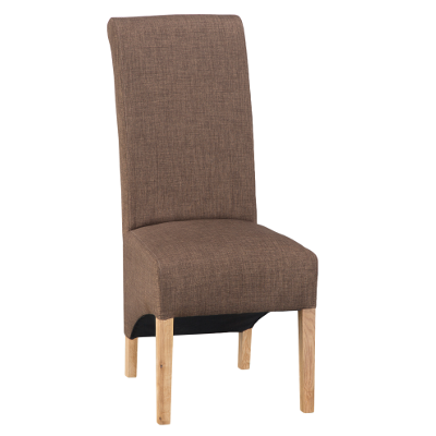 Luxury Chair Scroll Back Cinnamon  sc 1 st  Oak Furniture Europe & Luxury Chair Scroll Back Cinnamon u2013 Oak Furniture Europe