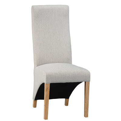 Luxury Chair Straight Back Cappuccino