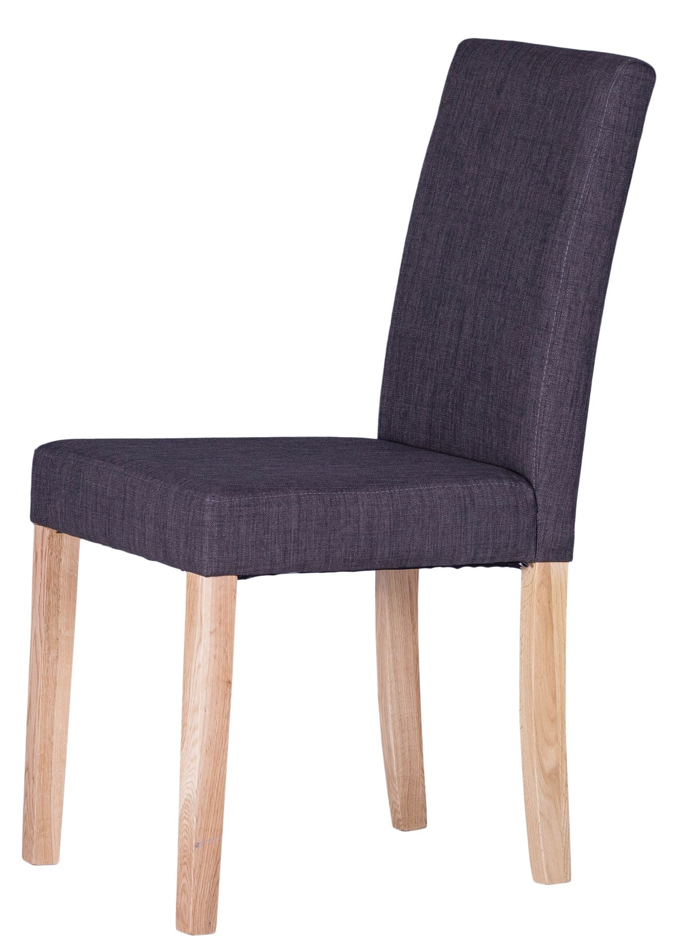 Luxury Chair Square Back Charcoal