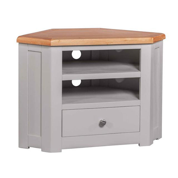 Cinza Grey Corner TV Unit