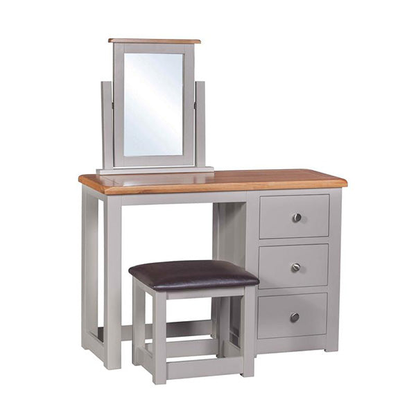 Cinza Grey Dressing Table & Stool