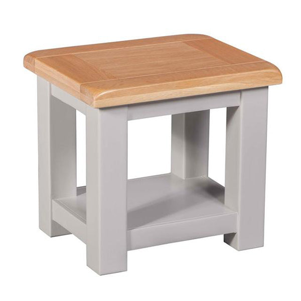 Cinza Grey Lamp Table