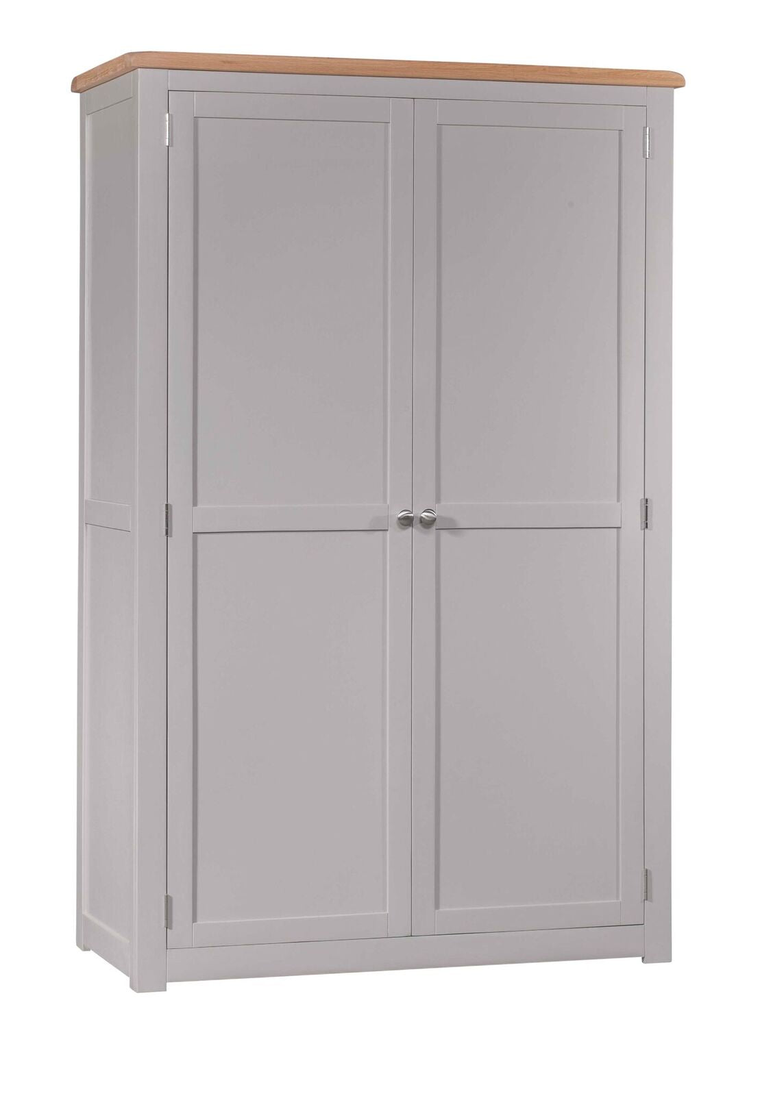 Cinza Grey Painted All Hanging Wardrobe