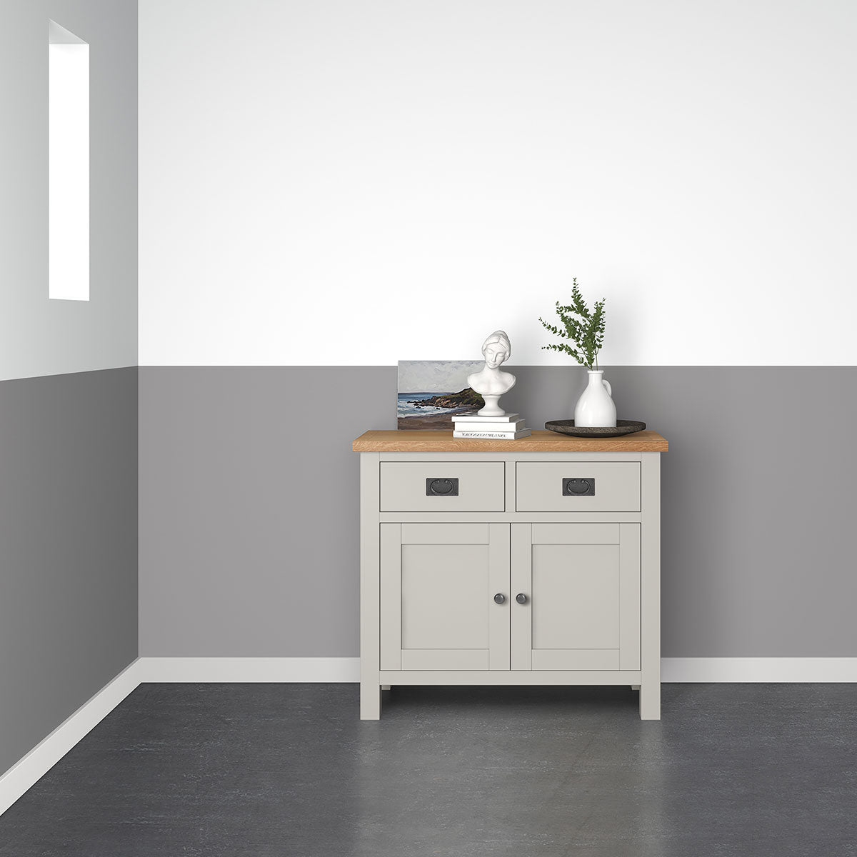 Devon Painted Oak Mini Sideboard