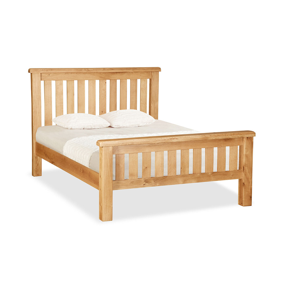Salisbury 4'6 Slatted Bed