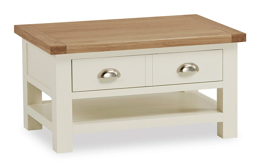 Seville Off White Coffee Table