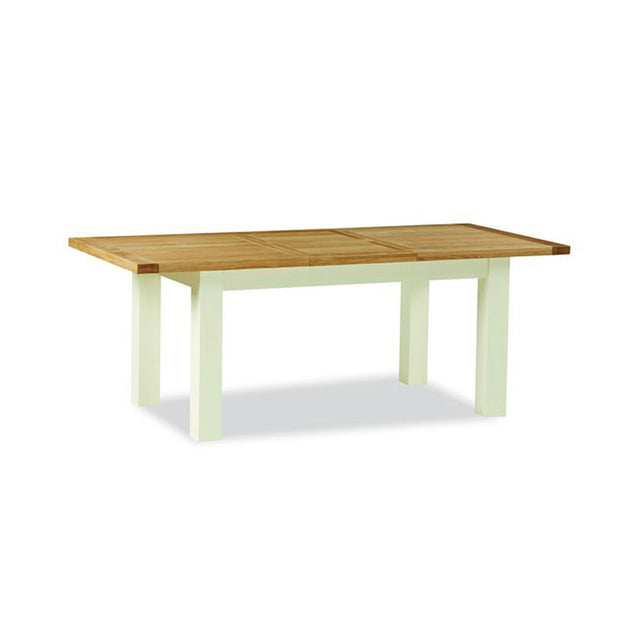 Seville Painted Off White Large Extending Dining Table