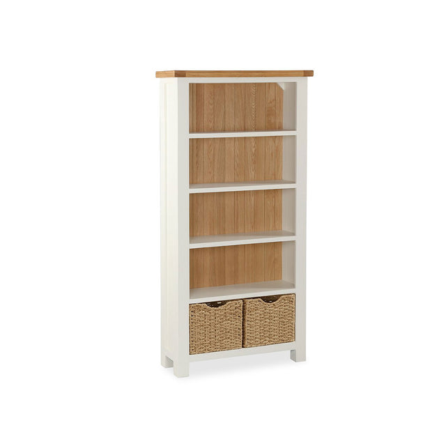 Satana Cream Large Bookcase
