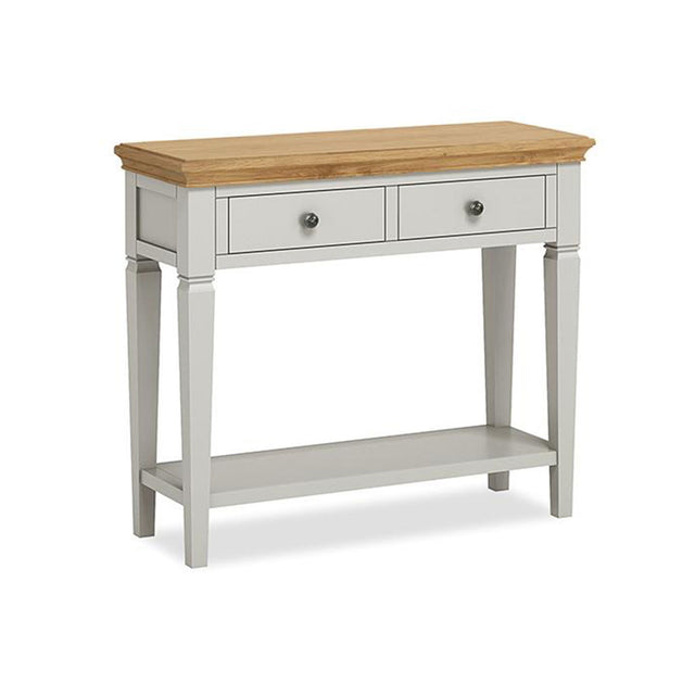 Paris Oak Console Table