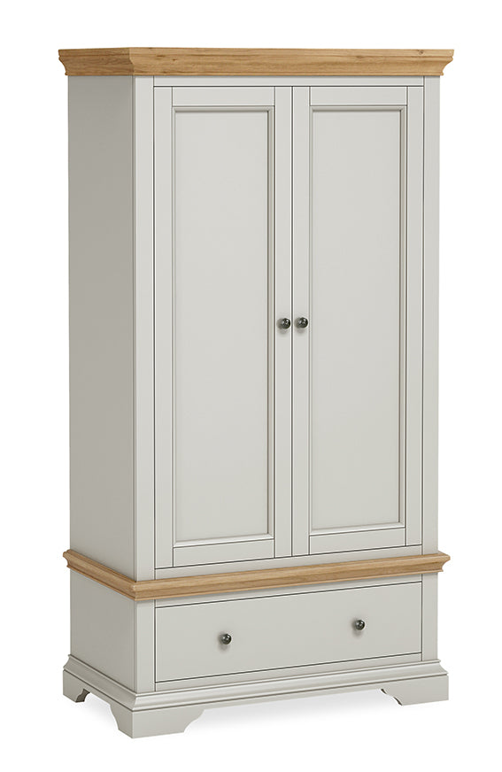 Paris One Drawer Double Wardrobe