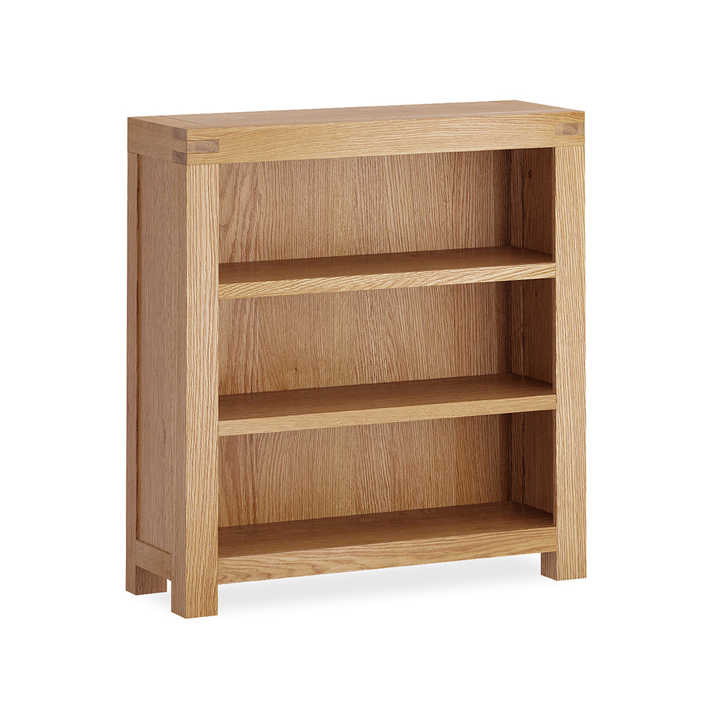 Montreal Country Oak Small Bookcase