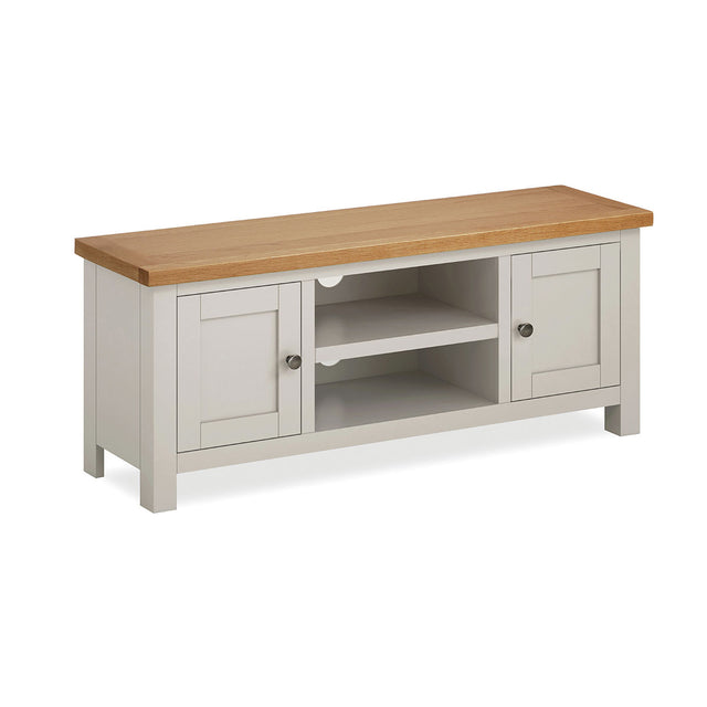 Devon Painted Oak Large TV Unit