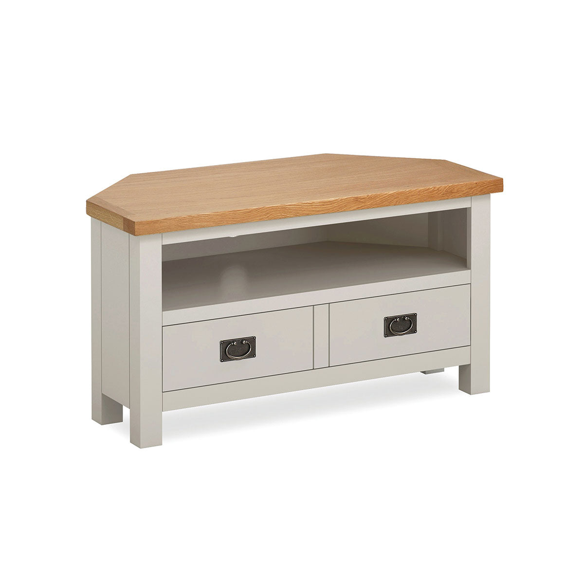 Devon Painted Oak Corner TV Unit