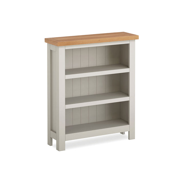 Devon Painted Oak Low Bookcase