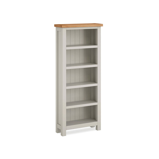 Devon Painted Oak Slim Bookcase