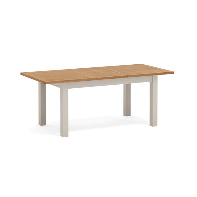 Devon Painted Oak Medium Extending Dining Table