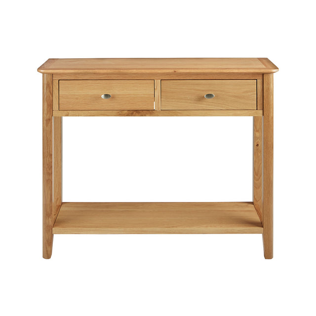 Bath Oak Console Table