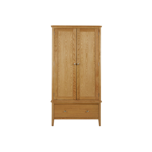 Bath Oak Gents Wardrobe