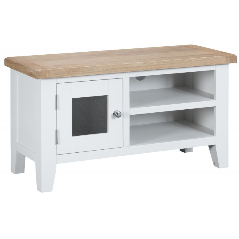 Seville White Standard TV Unit