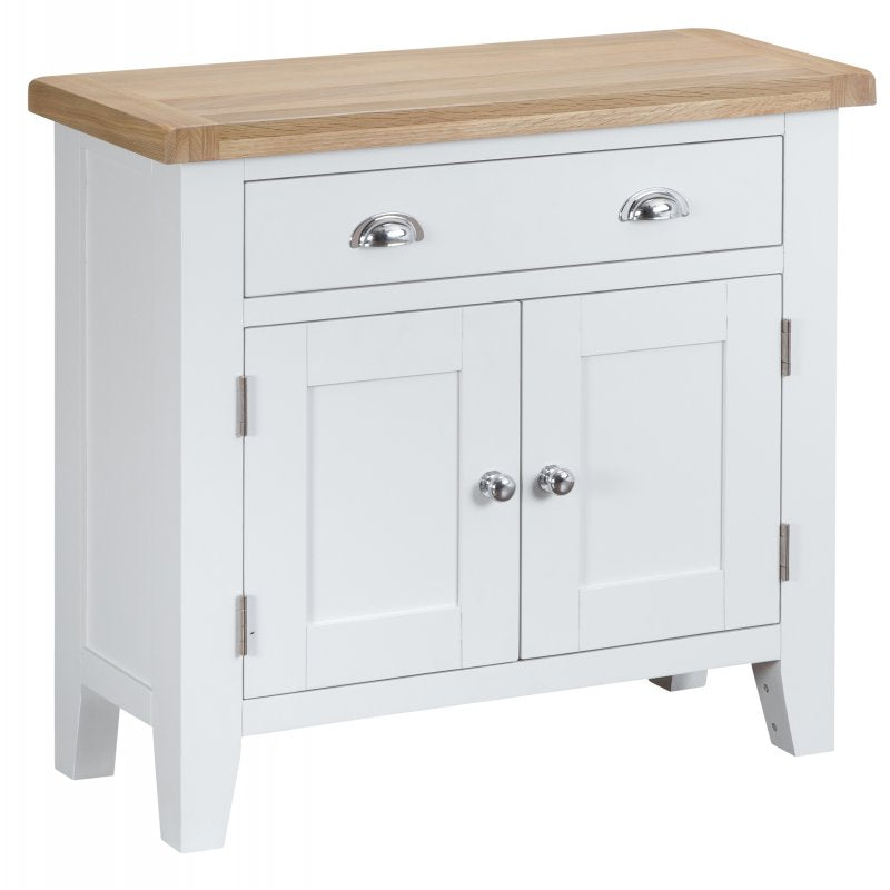 Seville White Small Sideboard