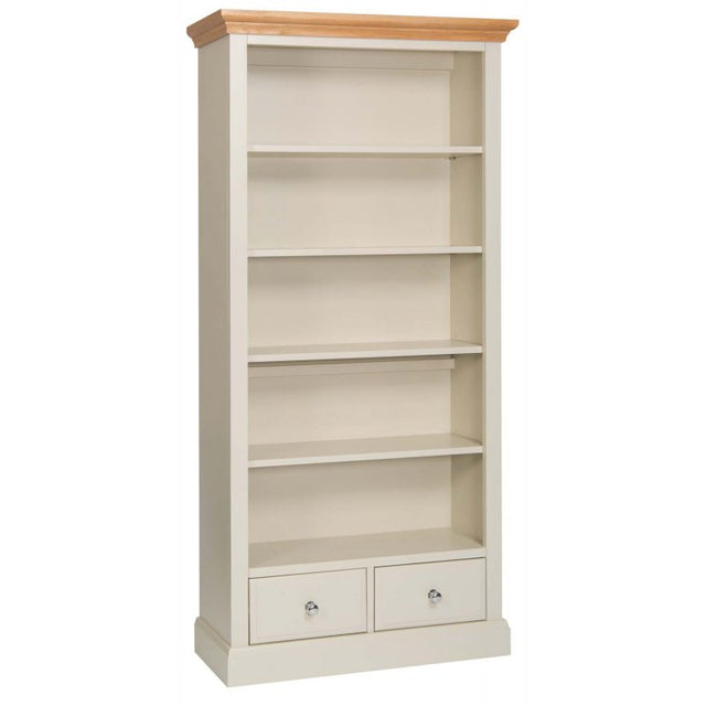 Turin Painted Oak Large Bookcase