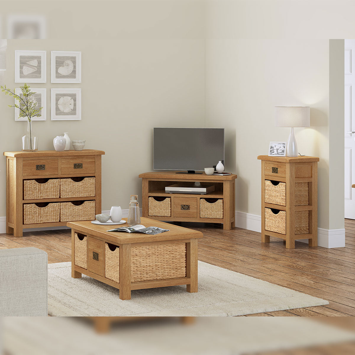 Salisbury Sideboard With Baskets