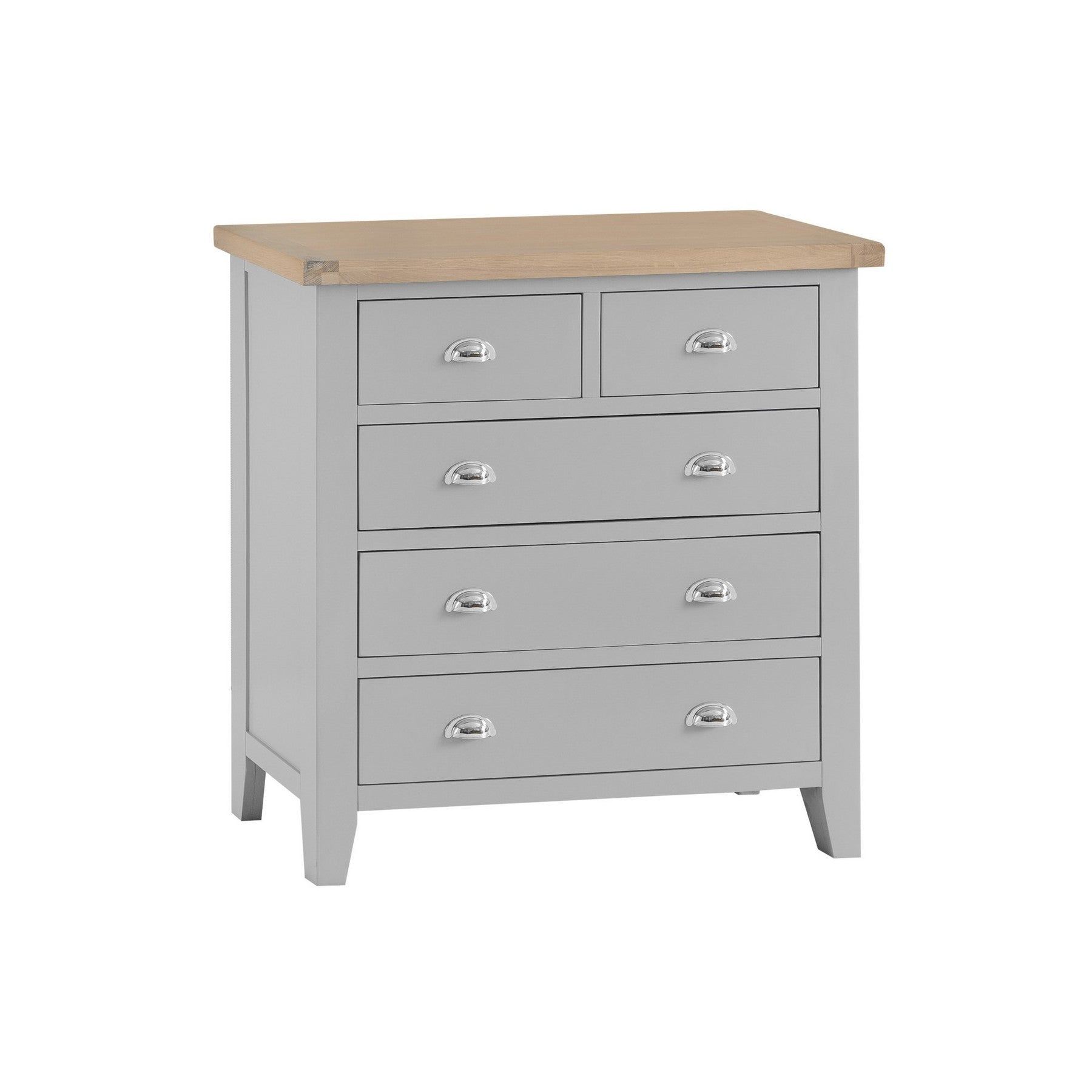 Seville Grey 2 Over 3 Chest