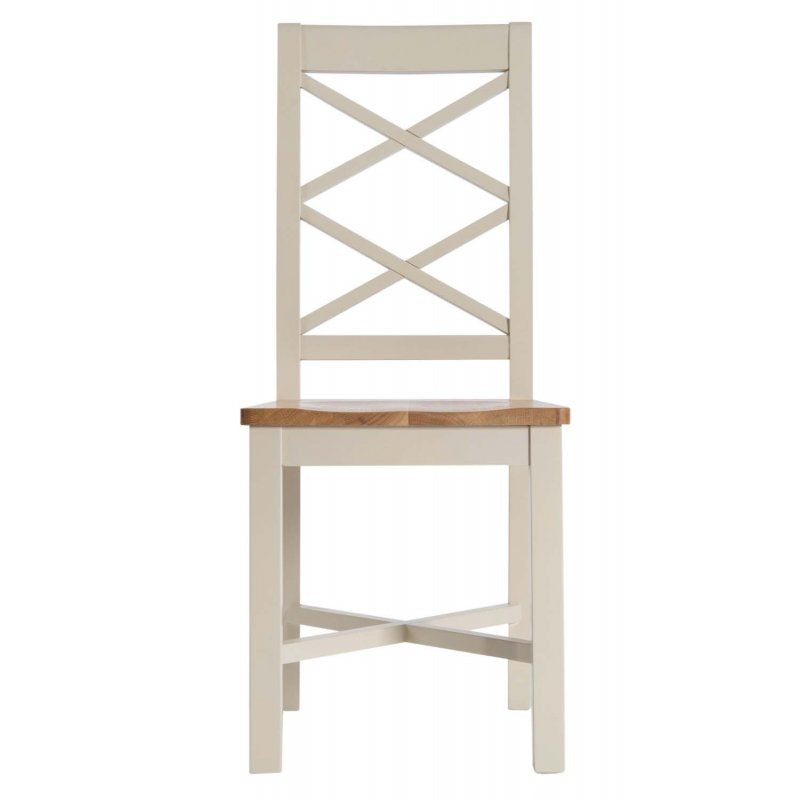 Turin Painted Oak Dining Chair With Wooden Seat  sc 1 st  Oak Furniture Europe & Turin Painted Oak Dining Chair With Wooden Seat u2013 Oak Furniture Europe