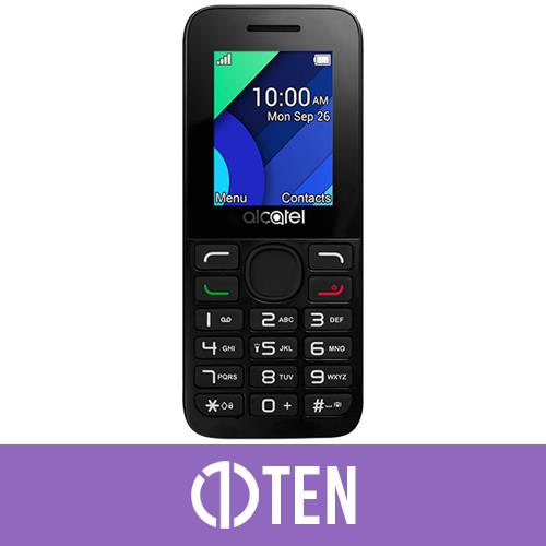 Alcatel 1054X Mobile Phone White