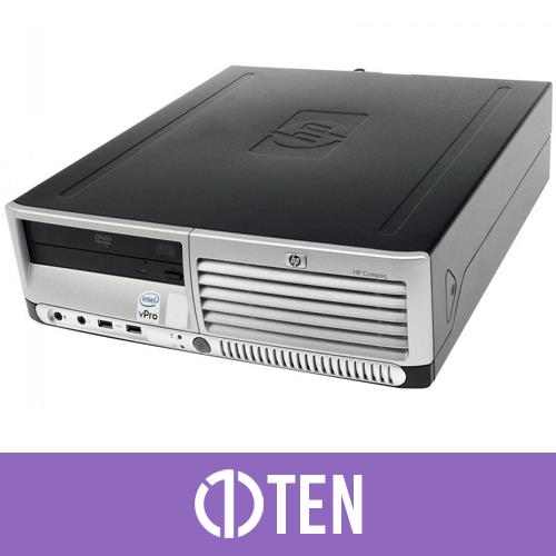 Hp Compaq Dc7700P Sff Intel Core 2 Duo 2 GB RAM 80 GB HDD