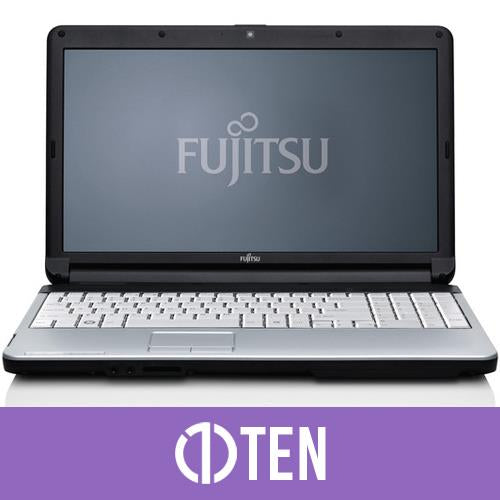 Fujitsu Lifebook A530 15.5 inch Laptop Intel Celeron 4 GB RAM 250 GB HDD