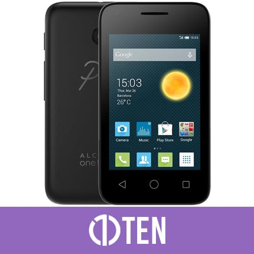 Alcatel Pixi 3 (3.5) Mobile Phone Black